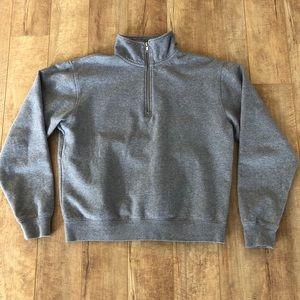 Brandy Melville Quarter Zip Sweatshirt